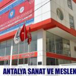 Antalya Sanat ve Meslek Eğitimleri
