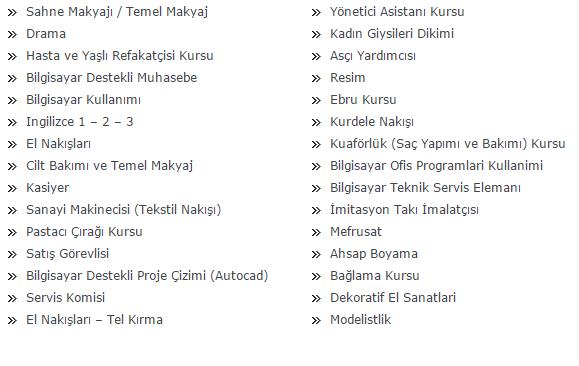 İzmir Ücretsiz Kurs