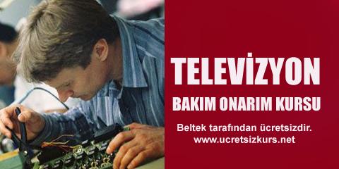 Televizyon bakım onarım kursu