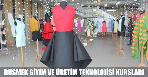 Tekstil ve giyim kursları